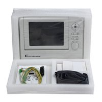 Wholesale Based on PC twin monitiroing Fetal Monitor with Sound and vision alarm multi Language MHz Utrosound Frequency