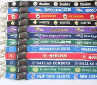 Wholesale Popular Football Key Lanyard Mobile neck strap Wholesalers Mix color