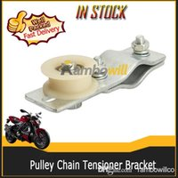 bicycle engine - Motorcycle Adjustable Pulley Chain Tensioner Bracket Bracket Plastic Roller Fits cc cc cc cc stroke Engine Motorized Bicycle