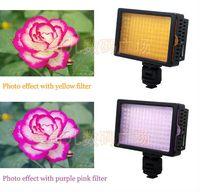 Acheter Conduit caméra lumière 126-HONGDAK HD-126 LED lampe vidéo pour canon nikon Pentax DSLR caméra DV caméscope Professioanl conduit lumière de caméra Livraison gratuite