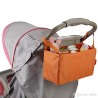 Wholesale new Bags Mommy Bags Waterproof Baby Diaper Stroller Organizer Cooler Bag For Stroller