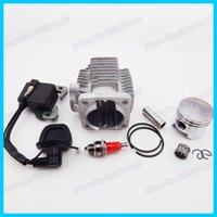 Wholesale Ignition Coil L7T Spark Plug mm Cylinder Piston Kit cc Pocket Dirt Bike Go Kart Mini Quad ATV Motocross order lt no track