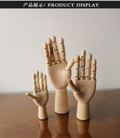 articulated mannequin - Top Level Wooden Articulated Hand Mannequin Left Right Set Wooden Hand Model Model hand artist Hand Sculpture Fashionable