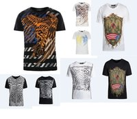 Wholesale Balm color brand men short sleeved top tee high quality eagle t shirts