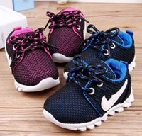 Wholesale 14 yards mesh breathable wicking autumn children s casual shoes Newborn baby lace slip bottom toddler shoes drop shipping D