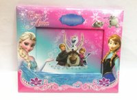 photo frame stand - froz Anna Elsa queen photo frame image stand photo album