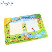 Wholesale CP1331NC x49cm New Baby drawing Mat with magice pen water drawing board music mat aquadoodle mat