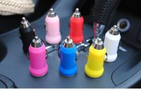 adapter player - Good quality Mini USB Car Charger USB Charger Universal Adapter for iphone S Cell Phone PDA MP3 MP4 player mobile