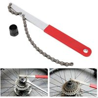 bicycle cassette sprocket - Bicycle Freewheel Turner Chain Whip Cassette Sprocket Remover Tool Practicable