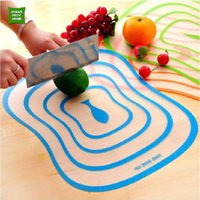 Wholesale cm Chopping Block Cutting Chopping Board Frosted Translucent Cutting Board HP022