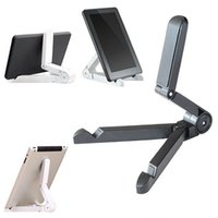 Wholesale Portable Fold up Stand Holder Bracket for Apple iPad Kindle Android Tablet Universal Portable Fold up Stand
