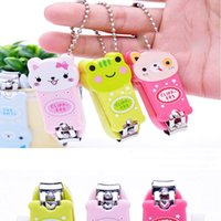 Wholesale Creative cute cartoon panda nail Trimmer nail scissors nail clippers factory outlets animal cute nail finger scissors