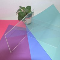 plexiglass sheets - THZ Acrylic Plexiglass Clear Sheets x400x1mm Photo Frame Plastic Sheet PMMA Plaques Can Cut Any Size