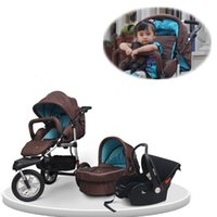 baby city car seats - 2015 New Brand Baby Pram In with Car Seat Carry Cot Trolley Optional Colors Travel City Carriage Fast Delivery