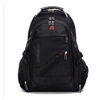 Wholesale 2016 New Hot Sales Swiss gear Backpack Bag Inch Laptop Backpack Swiss win Large Capacity Men s Travel Sports School Bag Backpack