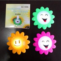 battery vendors - Sunflower Round LED Night Light Smile Face Night Light Best Products for Vendors Street Stall Best Seller Dry Battery Drived