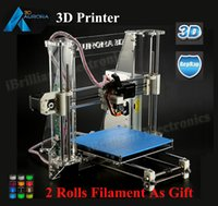 Wholesale D Printer Aurora Z605 Newest Reprap Prusa I3 DIY KIT Exclusive Injection Molded High Accuracy Rolls Filament