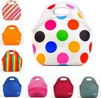 baby food cooler - Hot lunch bags insulation neoprene picnic lunch bag waterproof cooler insulated bag mother baby bag