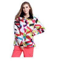 Wholesale Gsou Snow Women Ski Jacket Sonwboard Jacket Windproof water proof and Free Breathing Thermal Outdoor Female Winter Clothing Ski Wear