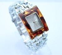 Wholesale GUE Wristwatch premium brand Women quartz watches Duplexes amber dial Imitation brand design SB013 Women Watch
