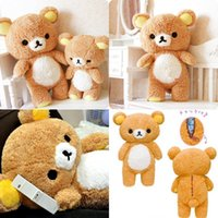 kawaii - 2015 Rilakkuma Relax Bear Plush Doll Stuffed Toy Teddy Bear Stuffed Plush Toy Stuffed Kawaii Gift San x Soft Pillow Plush Toy Doll MYF28