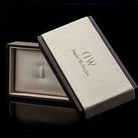 watch boxes wholesale - And Retail Luxury Brand Daniel Wellington Watch Box Dw Original Watch Box With Instructions And Manual Case cm Without Watch