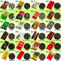 Wholesale 35 Different Flavors Famous Tea Chinese Tea including Oolong Puer Black Green White Herbal Flower Tea High Quality Gift g