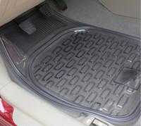 Wholesale Transparent thick transparent PVC car mats plastic pots of non slip mats car mats B
