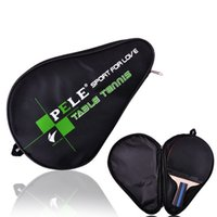 Wholesale 1x Oxford Cloth Table Tennis Racket Bag With Zipper Bat Protection Container Table Tennis Accessories