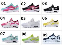 Cheap 2015 New Wholesale Famous Max New Model ZERO QS DAY 2 II Oreo boy's girl's Sport Running Shoes Youth's Shoe big shoes for children Sz 36-40