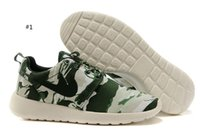 Wholesale New Arrivals Men and Woman Graffiti Roshe Sneaker shoes Palm trees Running Shoe Sunset Sky running shoes color Supply