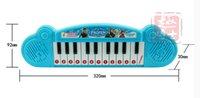 Wholesale Retail Frozen princess Anna Elsa Girls toys Children electronic organ Electronic keyboard cartoon Electone with music Song DHL