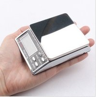 Cheap Wholesale-0.01 miniature small gram weight electronic scales tea electronic balance jewelry scale pocket scale 2000g 0.1g