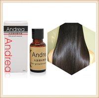 Wholesale Andrea Hair Growth Essence Hair Loss Liquid ml Dense Hair Fast Sunburst Hair Growth Grow Restoration Pilatory DHL