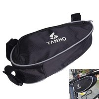 Wholesale Outdoor Triangle Bicycle Cycling Bike Bag Beams For Tripod Phone Tools Wallet Front Tube Bags TY1629