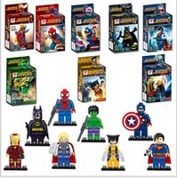 brand toys - 2015 new High quality Fancy assembling lego toys The avengers alliance superhero tsai series brand with S
