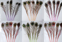 Wholesale High quality inches cm peacock feathers U pick color Wedding centerpiece decor event decor