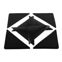 Wholesale 4pcs Ruggies Rug Carpet Mat Grippers Non Slip Corners Pad Anti Skid Reusable Washable Silicone Useful Tidy dandys