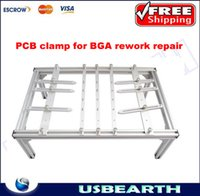 bga jig - PCB bracket for BGA rework repair BGA support clamp mmx300mmx160mm with long sticks and short jigs support PCB board