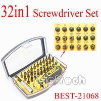 Wholesale Freeshiping Best Precision Screwdriver Set Bits Kit for mac laptop Tablet mobile phone samsung xbox maintain repair tools