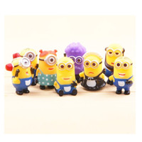 best movie books - Despicable Me The Minions Role Figure Display Toy PVC Set Small Yellow People Comic Book Movie Toy The Best for Children