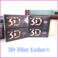 Wholesale 2015 New Arrival Moodstruck D You nique Fiber Lashes Black color set by uprise
