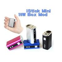 vape - Mini iStick W Box Mod mAh Variable Wattage Voltage Vape Mod Thread Ismoka Mini istick mah electronic cigarette