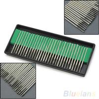 Wholesale 30Pcs Diamond Burr Bits Drill For Engraving Etching Dremel Rotary Nail Art Tool Set VG3