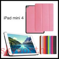 best ipad flip case - Best quality Tri fold leather case For ipad Pro ipad air2 mini4 Galaxy tab S2 A E T550 T580 T560 Folio Flip