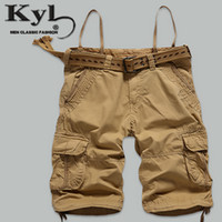 bermudas cargo - New Summer Man Shorts Cargo Men s Big Casual Beach Short Pantalones Cortos Men Brand Bermudas Hombre