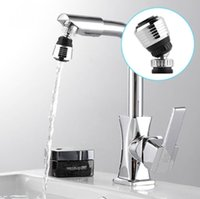 Wholesale 360 Rotate Swivel Faucet Nozzle Torneira Water Filter Adapter Water Purifier Saving Tap Aerator Diffuser Kitchen Accessories without Package