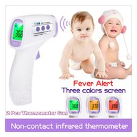 best child thermometer - 2 PACK Best Price High Quality Thermometer Gun Non contact Infrared IR Laser Body Surface Animal Temperature with LCD Screen