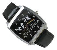 band pink floyd - Pink Floyd Black Leather Band Fashion Watch Wrist