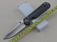 Wholesale Chris Reeve Sebenza Pocket Folding Knife Full Stainless Steel Handle Survival knives Camping Tools